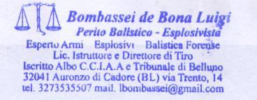 Perito balistico Italia